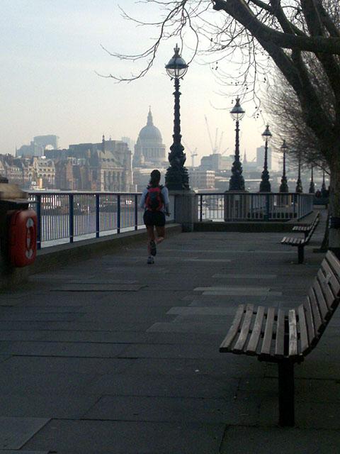 Spring Morning Run