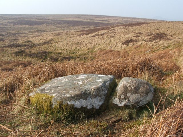 Unfinished millstone at Red Brae