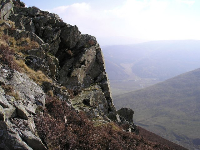 Looking East on The Cape Crags
