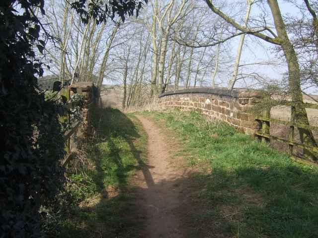 Railway bridge on the Monarch's Way