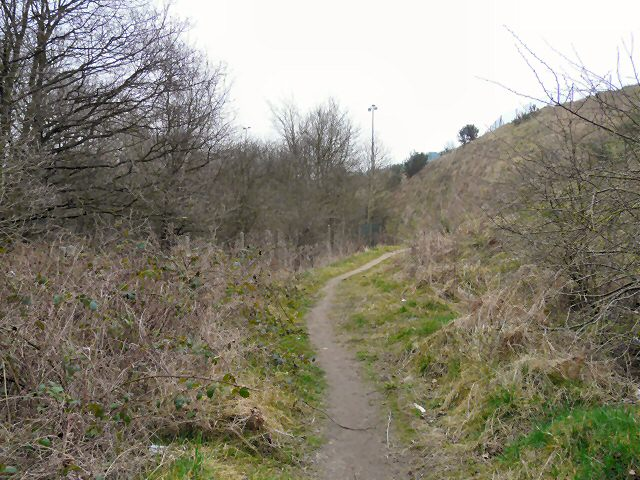 Footpath from Hinton Grove