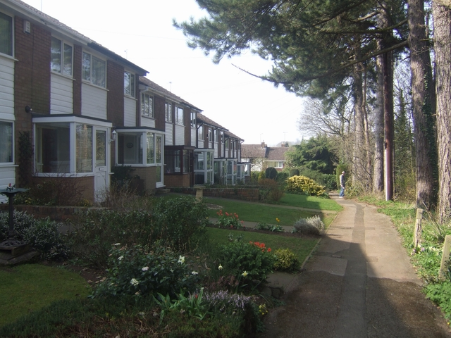 Housing alongside the Monarch's Way