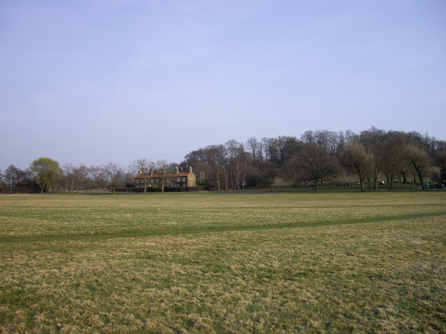 Houses in Hainault Forest Country Park