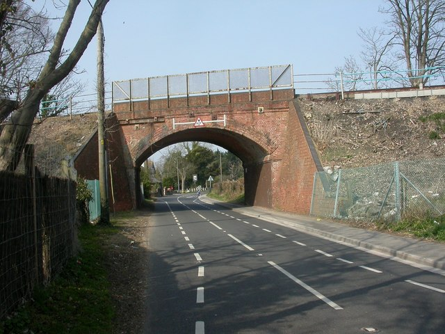 Burton, railway bridge