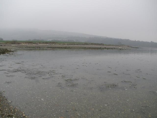 Estuary of Ardyne Burn