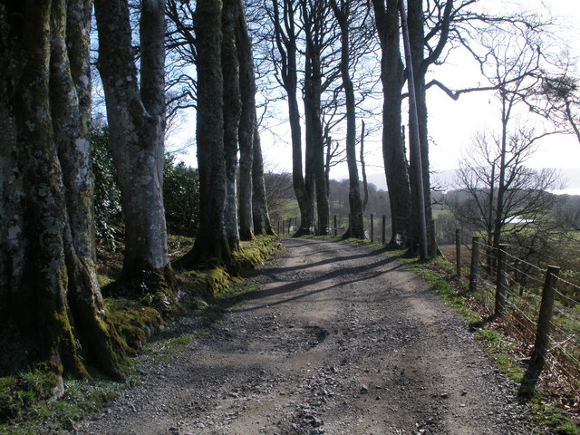 Track to Ardmarnock House
