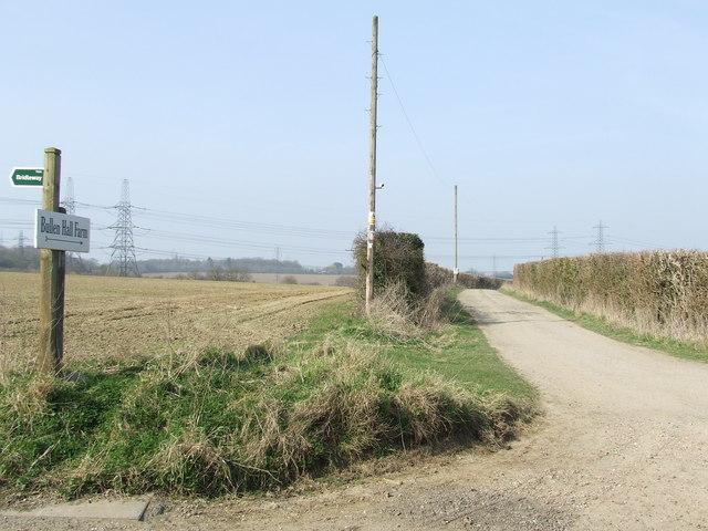 Entrance To Bullenhall Farm