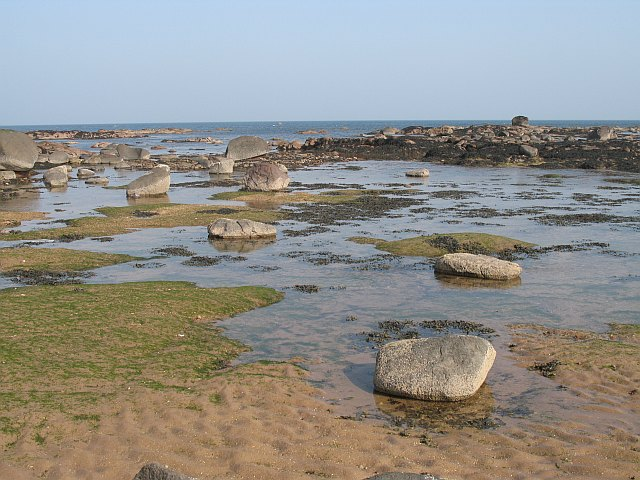 Scoughall Rocks