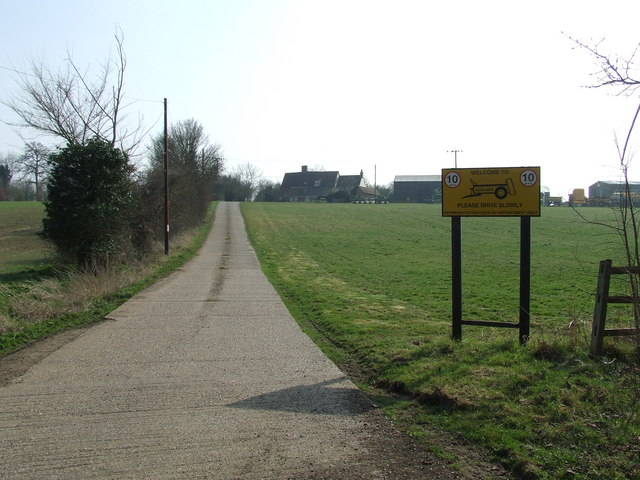 Entrance To Fidgeons Farm