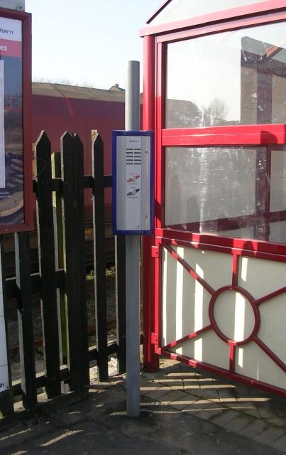 Way Phone - Platform 1 - Knottingley Station