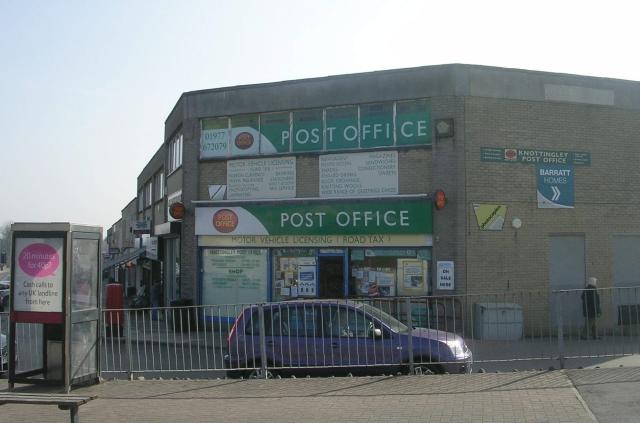 Knottingley Post Office - Headlands Lane
