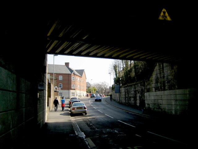Damers Road railway bridge - Dorchester