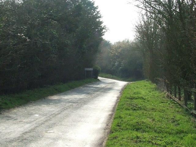 Entering Bramford Tye