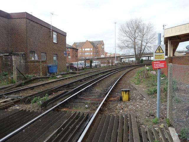 Poole : Railway Line