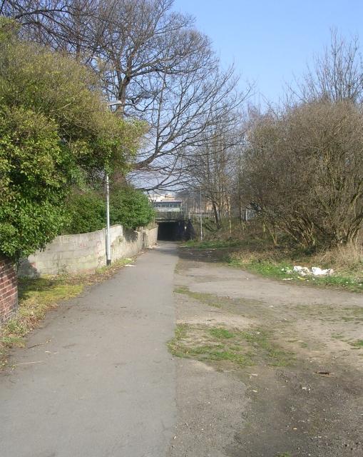 Footpath - Spawd Bone Lane