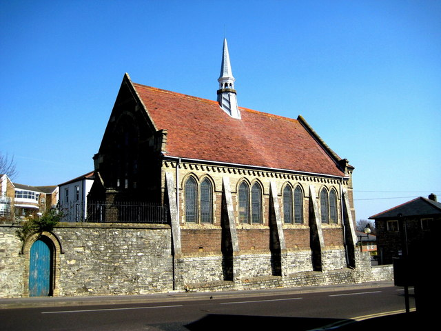 The former Workhouse Chapel - Dorchester
