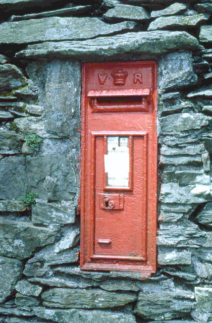 Victorian post box at High Nibthwaite
