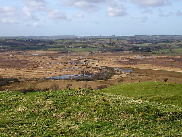 View of Cors Caron - Tregaron Bog