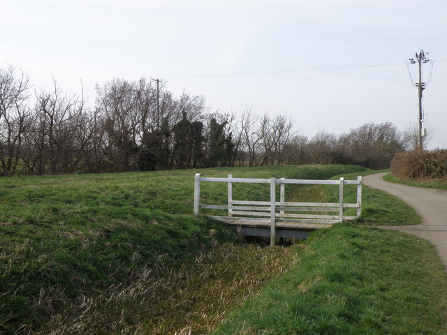 Bridleway, Footpath at the end of Polecat Lane