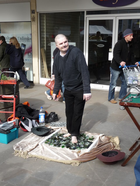 Andover - Street Entertainer