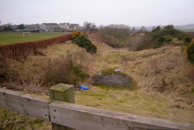 View of the Dismantled Railway leading to Forfar