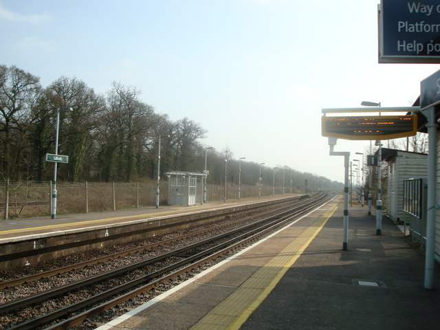 Salfords Railway Station