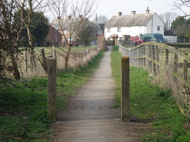 Path to Alconbury Weston