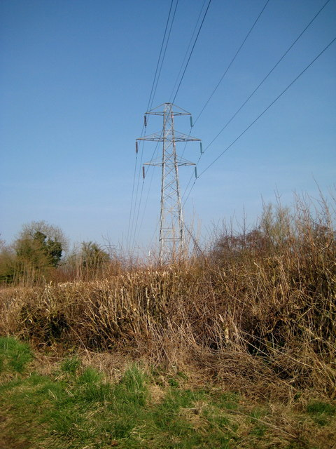 Pylon near Netherstoke
