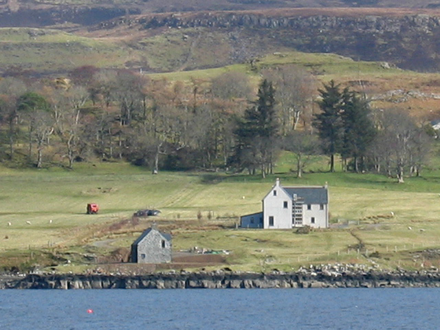 Kingsburgh Boathouse and Crionach