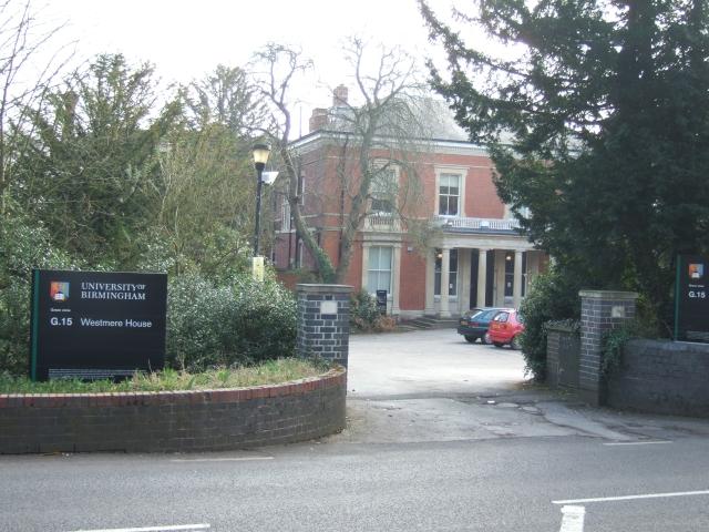Westmere House, University of Birmingham