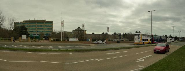 Poole : Bournemouth University & Fern Barrow