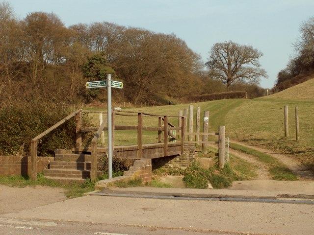 Public footpaths in Little Hadham