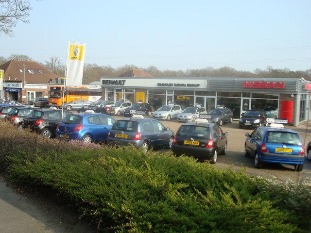 Car Dealer, Snow Hill, Copthorne, West Sussex