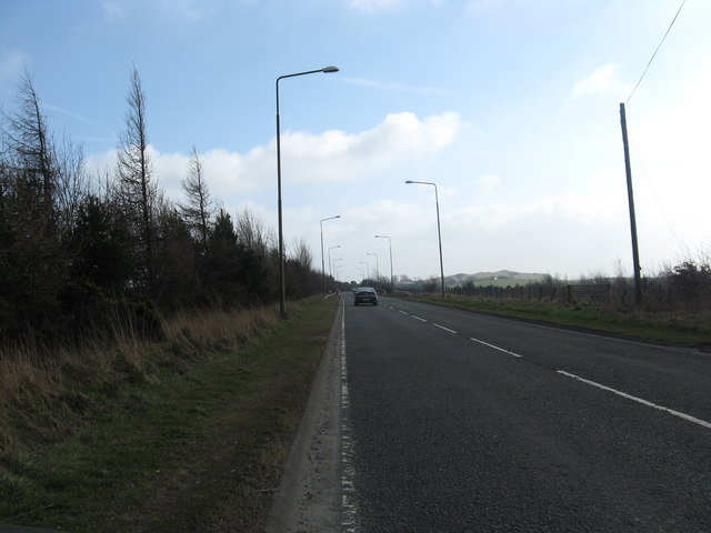 Heading to the M8 away from Bathgate