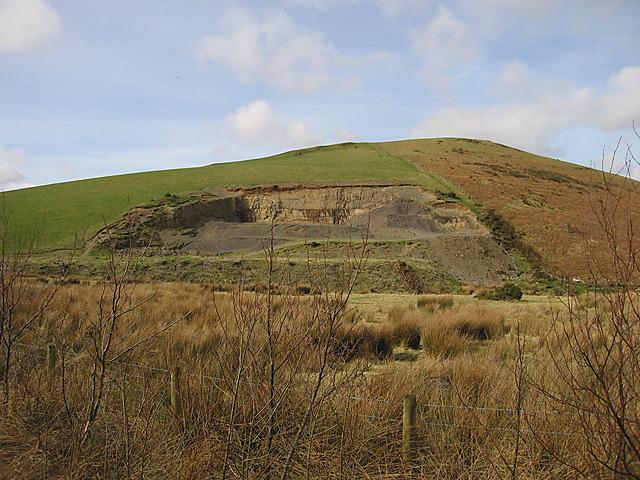 Cwm Gorffen quarry