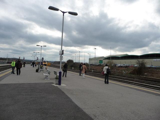 Westbury : Westbury Railway Station