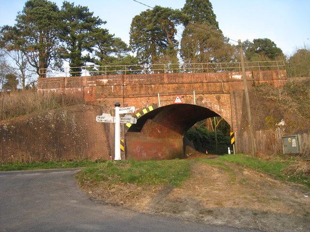 Railway Bridge over B2099