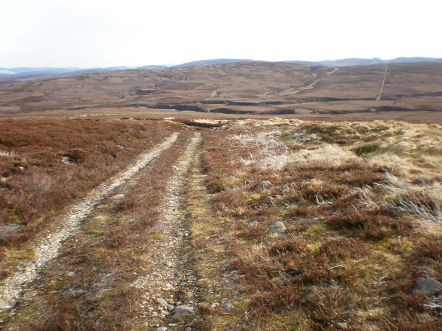 Track to Bothy beside Allt an t-Slugain Mhòir