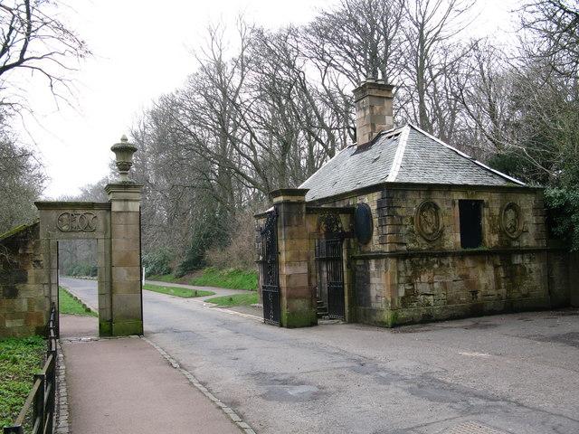 Entrance to Pollok Country Park