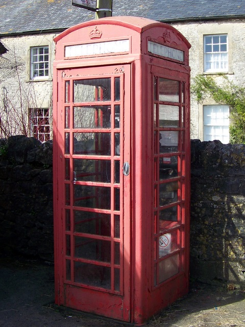 Telephone box, Nunney
