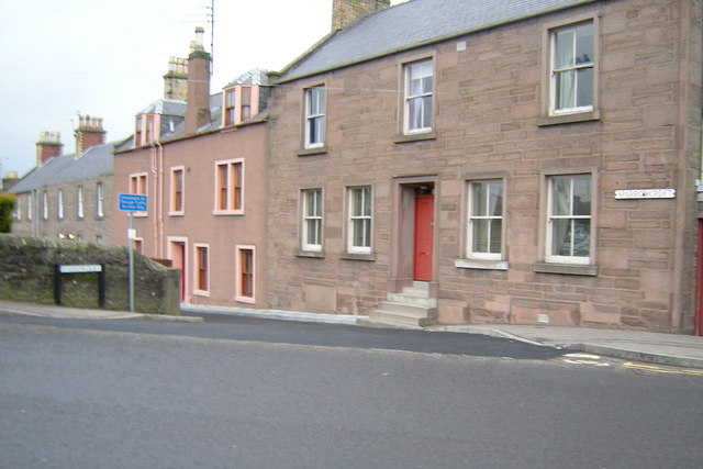 Sparrowcroft, Forfar at its junction with St James Road