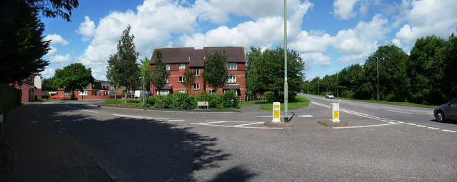 Tiverton : Queensway & Heathcoat Way