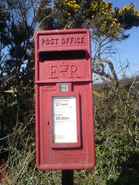 Winnard's Perch Postbox