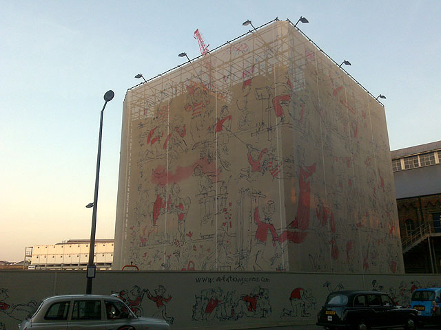 The Stanley Building Wrap