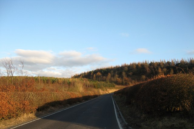 Minor road near Linlithgow