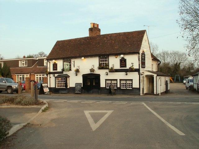 'The White Horse' inn