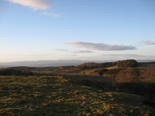 Looking north from Cairnpapple Hill