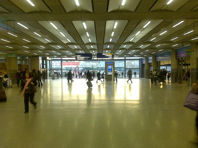 Concourse at St Pancras