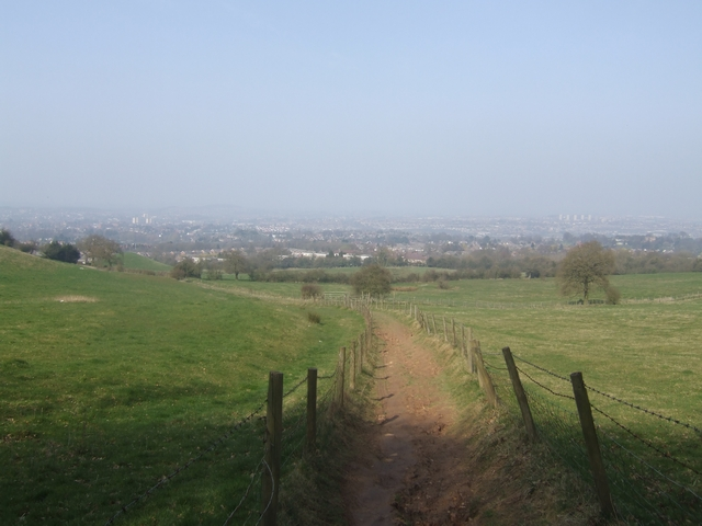 Monarch's Way on Wychbury Hill