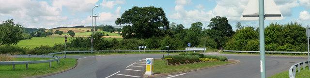 Tiverton : B3391 Roundabout